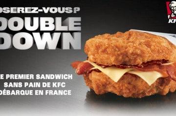 Le Double Down de KFC