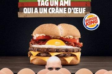 Le jour où Burger King s'est amouraché des chauves de France