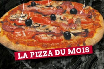 Le Kiosque à Pizzas et la pizza du Buckingham Palace