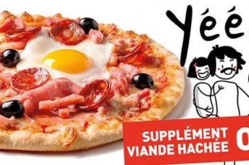Le Kiosque à pizzas : la pizza de janvier 2020