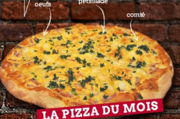 Le Kiosque à Pizzas lance une nouvelle recette de quiche
