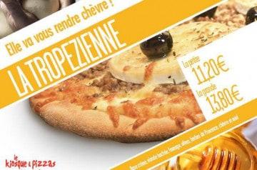 Le Kiosque à Pizzas présente La Tropézienne