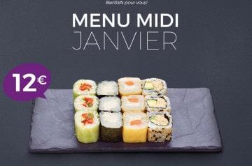 Le maki dans tous ses états chez Eat Sushi en janvier