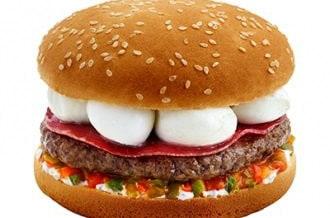 Le menu printemps de Speed Burger