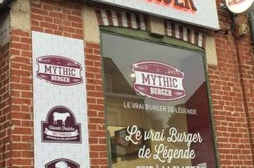 Le Mythic Burger par La Boîte à Pizza