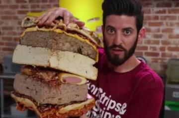Le Patriot Burger d'Epic Meal Time