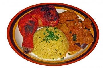 Le poulet dans la cuisine indienne