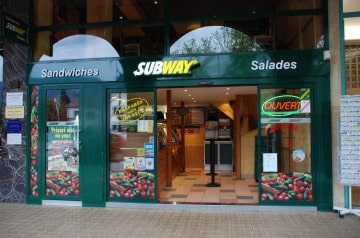 Le Poulet Fajita de Subway