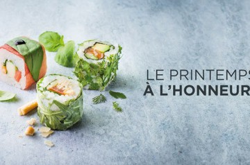 Le printemps chez Planet Sushi : que commander ?