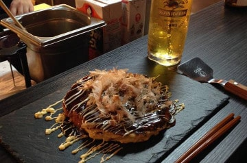 Le restaurant d'okonomiyaki de Paris