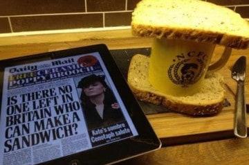Le #sandwichgate en Grande Bretagne