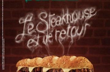 Le steakhouse de Subway : un sandwich au steak haché