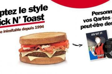 Le style Quick N' Toast : à vous de jouer !