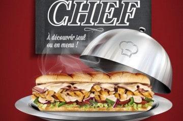 Le Sub du Chef Subway