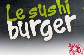 Le sushi Burger O'Sushi