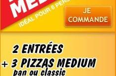 Le Triple Medium de Pizza Hut
