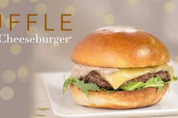 Le Truffle Cheeseburger de Mythic Burger