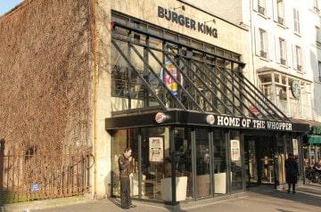 Le vaisseau amiral Burger King dans le 8ème   pari