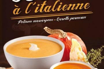 Les 2 menus pour l'hiver de Mezzo di Pasta