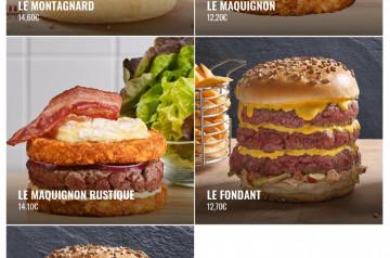 Les 5 burgers de La Boucherie