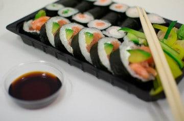 Les bentos de Planet Sushi pour le déjeuner au bureau