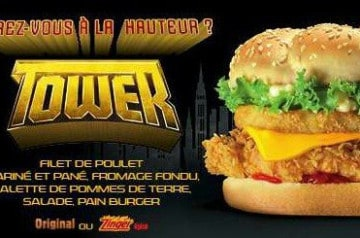 Les burgers démesurés de KFC