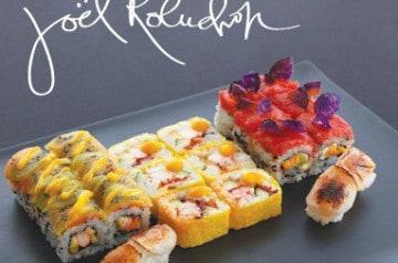 Les créations Sushi Shop par Joël Robuchon