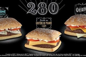 Les fromages à l'honneur chez McDonald's