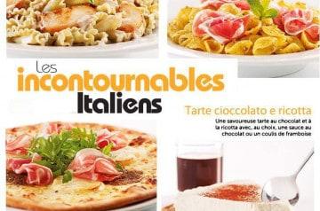 Les Incontournables Italiens août Del Arte