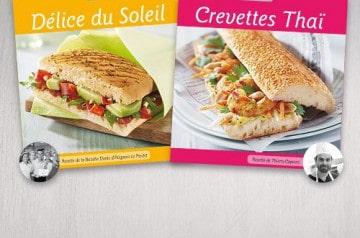 Les lauréats du Concours Sandwich by Brioche Dorée