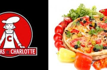 Les légumes dans les Pizzas de Charlotte