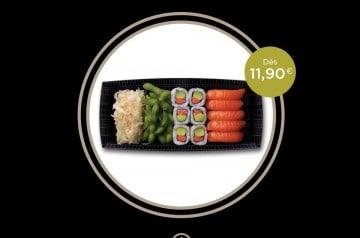 Les lunchbox de Sushi shop