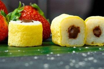 Les makis desserts de Planet Sushi