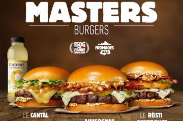 Les Masters Burgers de Burger King sont enfin disponibles