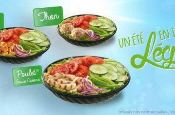 Les meilleurs menus salade de cet été