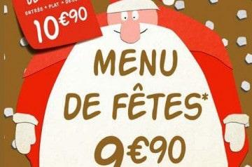 Les menus de fêtes Flunch