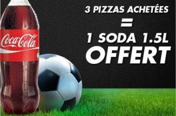 Les offres Pizza Hut durant la Coupe du Monde 2014