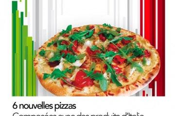 Les pizzas de cet été 2019 à Pizza Bonici