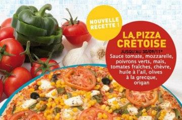 Les pizzas du moment