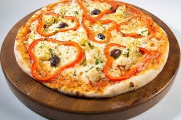 Les pizzas végétariennes de Mister Pizza