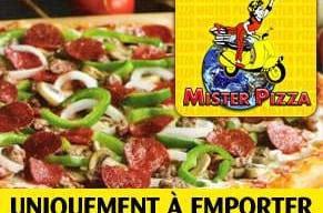 Les pizzas viandes et charcuterie de Mister Pizza