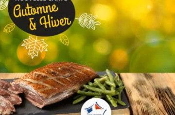 Les plats de saison automne-hiver 18/19 de Poivre Rouge