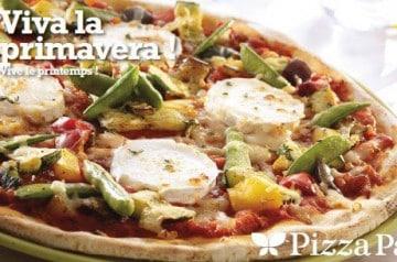 Les plats printemps-été Pizza Paï