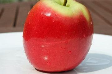 Les pommes en hiver aux fast-foods