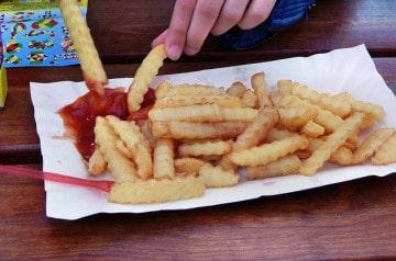 Les premières frites à l'unité chez Burger King