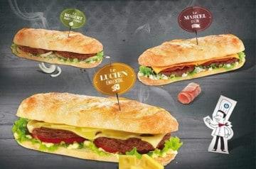 Les prochains sandwiches Speed Burger