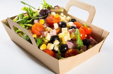 Les salades Mister Pizza