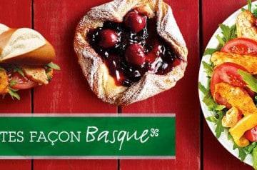 Les saveurs du Pays Basque chez Brioche Dorée