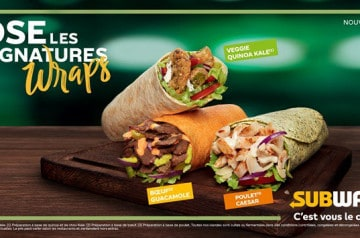 Les signatures wraps de Subway