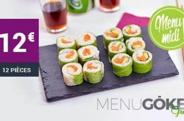 Les spécialités à l'avocat de Eat Sushi